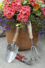Flower Planter & Garden Tools #1