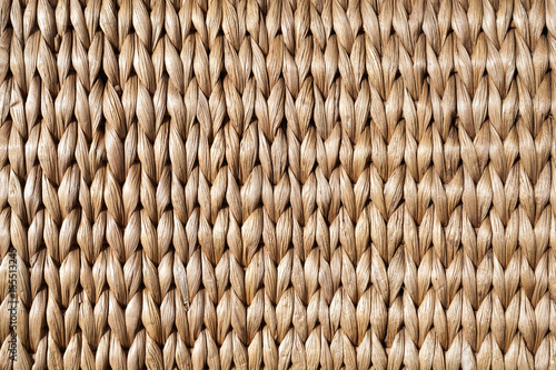 Fotografía  Wicker wall pattern, background photo