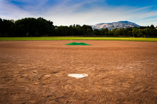 Baseball Diamond From Behind H...