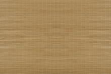 Bamboo Mat. Top View. Bamboo Mat Texture Background.
