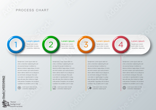 process chart timeline workflow vector graphics buy this stock