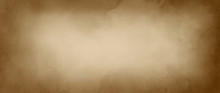 Old Brown Paper Background With Watercolor Or Coffee Color Stains In Marbled Paint Design