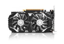 Graphics Card Isolated On Whit...