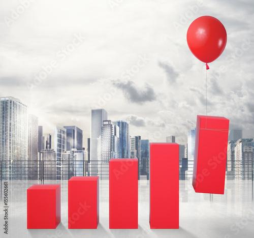 Fotografía  Fly to economic success