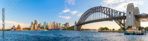 Staande foto Sydney Downtown Sydney skyline