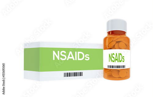 NSAIDs - medical concept Wallpaper Mural