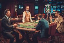 Upper Class Friends Gambling I...