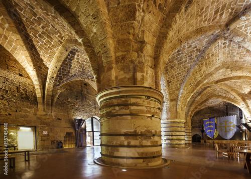 Photo Citadel in Akko, Akre, Acre, Saint Jean d'Acre, Israel, Middle east