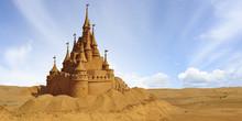 Architectural Sand Castle.
