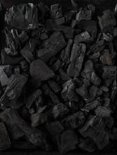 Black Coal Texture Background