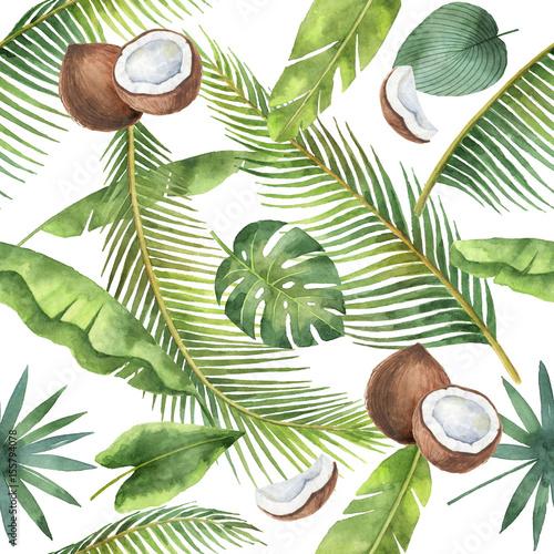 kokosy-i-liscie-palm