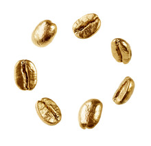Gold Coffee Beans