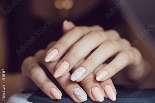 Nail Care Canvas Print