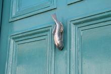 Unusual And Ornate Metal Door ...