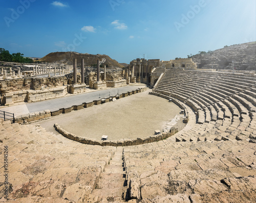 Photo Bet Shean Ruins in Israel