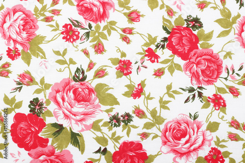 styl-vintage-kwiatow-wzor-tkaniny-gobelin-tlo