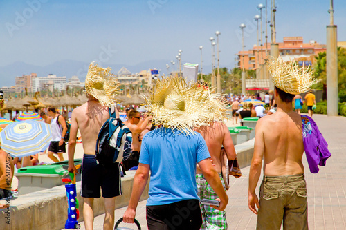 Valokuvatapetti Tourismus auf Mallorca