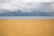 Beach with brooding sky