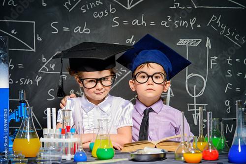 Obraz smart children concept - fototapety do salonu