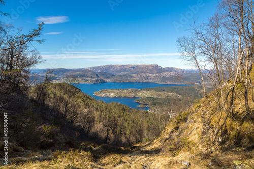 Foto op Canvas Zuid Afrika Sognefjord in Norway