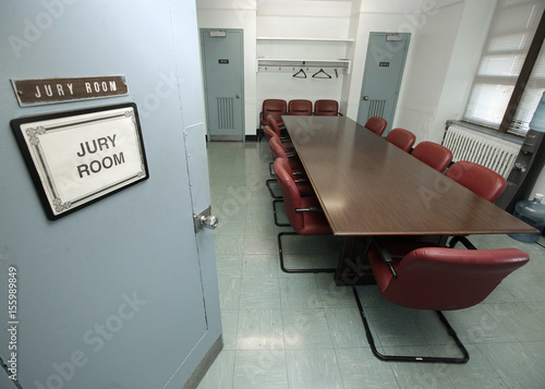 Jurors work in this jury room to decide the outcome of cases in Part