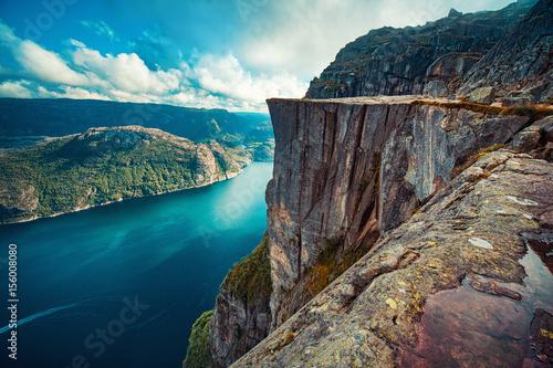 Photo  Preikestolen in Norway