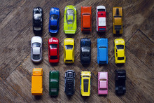 Assorted Colorful Car Collecti...