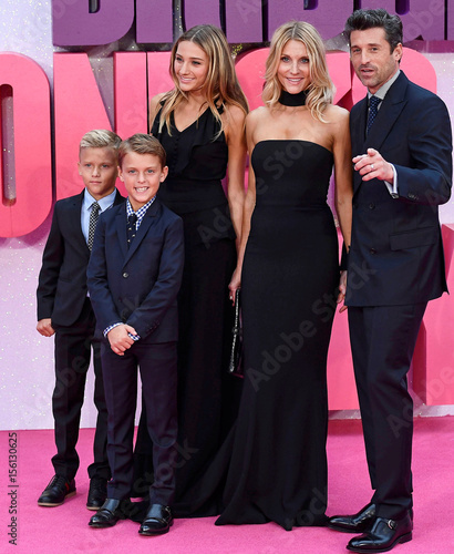 Actor Patrick Dempsey Arrives With His Family For The World Premiere