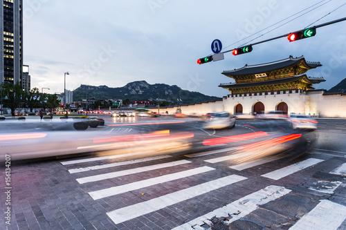 The streets of Seoul, South Korea