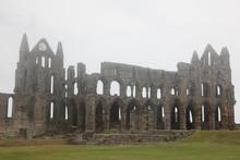 Whitby Abbey Taken In Fog, Rui...