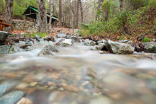 Mesa Potamos Creek In Cyprus F...
