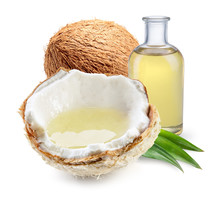 Coconut With Coconut Oil With ...