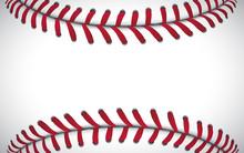Texture Of A Baseball, Sport B...
