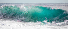 Turquoise Blue Wave