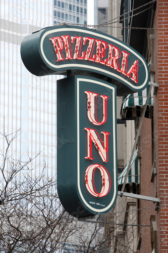 A Pizzeria Uno Restaurant Is Seen In Chicago Buy This