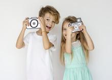 Couple Kids Friend Togethernes...
