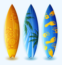 Surfboards With Design