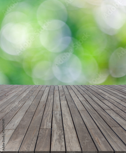 Terrasse Plancher Bois Fond Bokeh Buy This Stock Photo