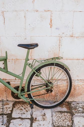 Deurstickers Fiets Vintage bike
