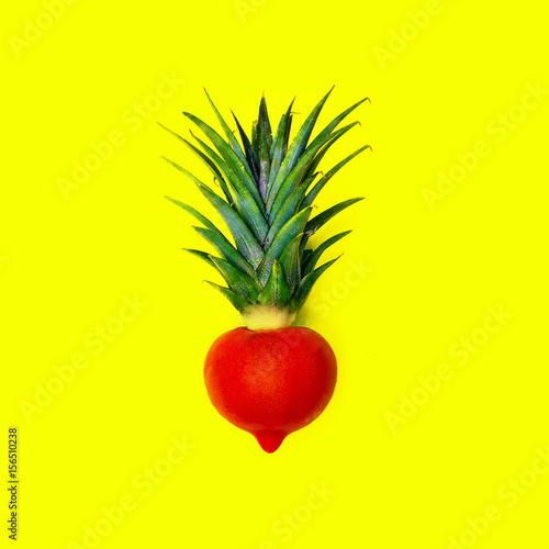 Plakat Hybryda ananasa i pomidora