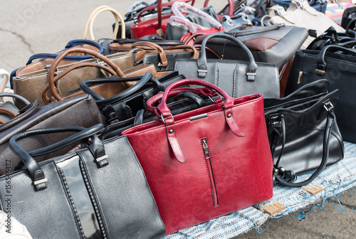 Fotografering  Ladies bags