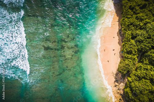 Foto op Aluminium Bali Green bowl beach, Uluwatu Bali.