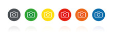 Kamera - Farbige Buttons