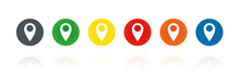 GPS Pointer- Farbige Buttons