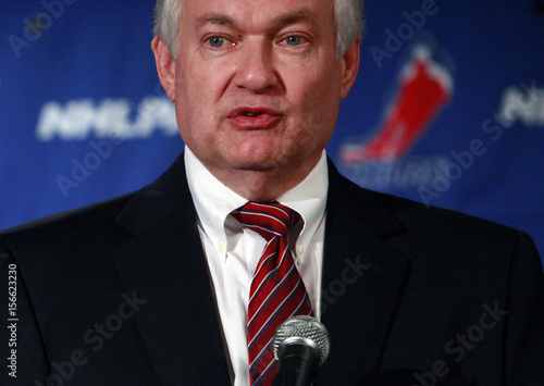 Donald Fehr Executive Director Of The National Hockey League