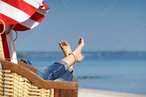 Fotomural  Strandurlaub