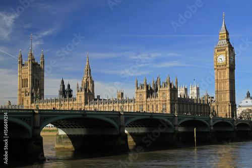 Carta da parati Palace of Westminster, London, England