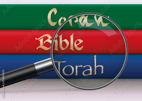 Fotografija  religion - Bible - Torah - Coran - livre sacré - dieu - prière - religieux