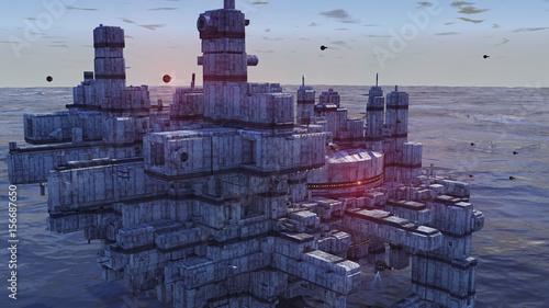 miasto-zbudowane-z-segmentow-nad-oceanem