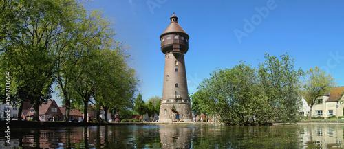 Fotografia Wasserturm Wahrzeichen der Stadt Heide in Holstein